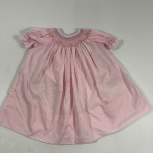 Other - Vintage baby girl smocked dress